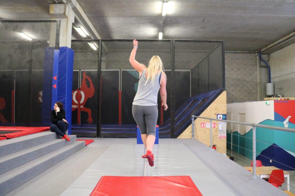 salto trampoline mougins